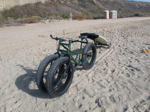 Rungu - Una bicicleta con dos ruedas delanteras (Trike)