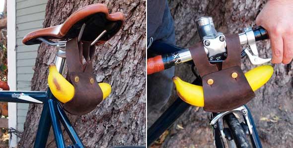 Soporte de plátano para bicicleta