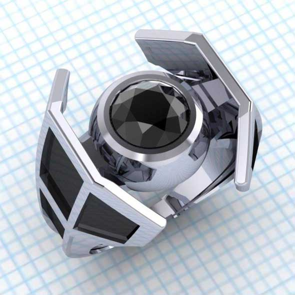 Anillos de Star Wars: X-Wing y TIE Fighter
