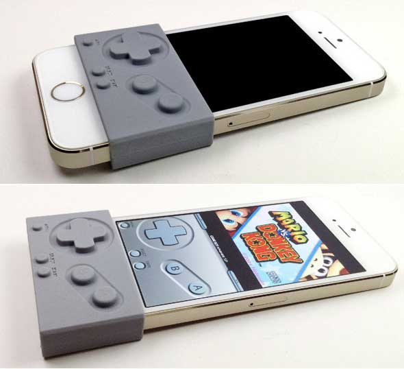 Una simple tira de silicona que convierte tu iPhone en una Game Boy