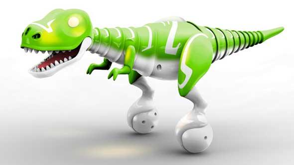 Meet Boomer, un robot bebé dinosaurio