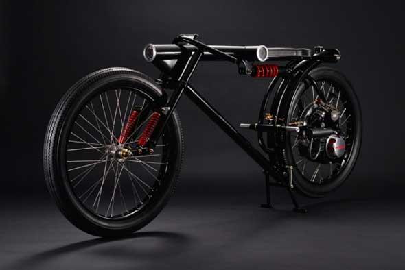 Esta moto es en realidad una cámara de seguridad con ruedas