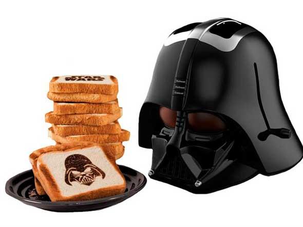 Tostadora de Darth Vader versión mejorada