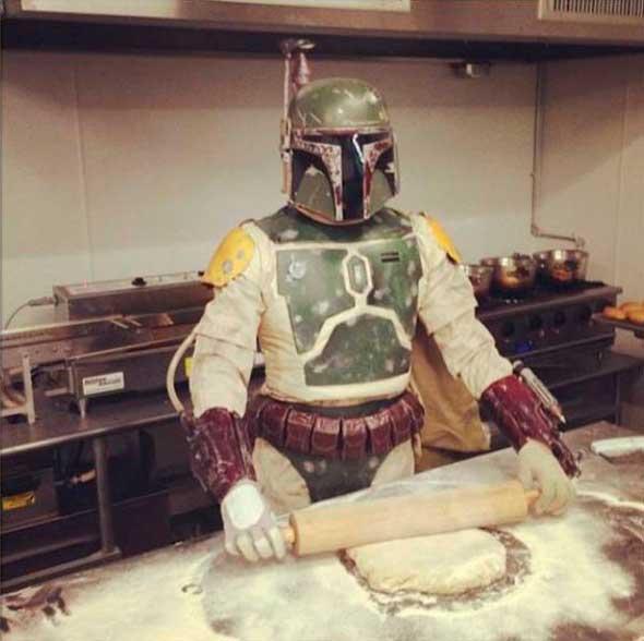 Donuts Boba Fett Star Wars