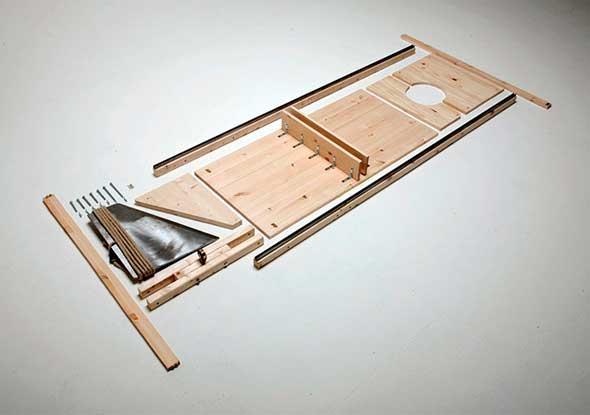 guillotina-ikea-IOCOSE-sGuillotina estilo Ikea para montarla tú mismo