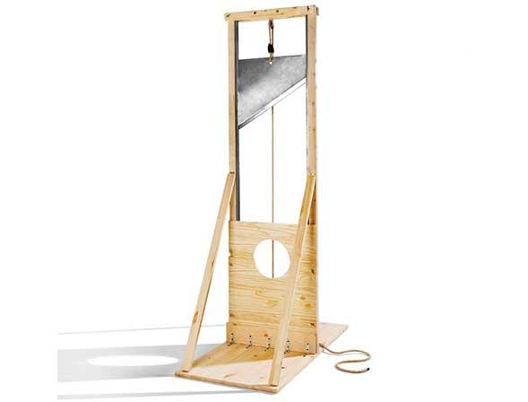 Guillotina estilo Ikea para montarla tú mismo
