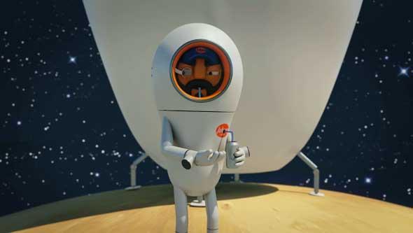 JohnnyExpress, un divertidísimo corto animado de ciencia ficción