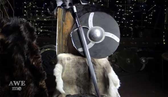 Garra, la espada de Jon Nieve forjada por Tony Swatton