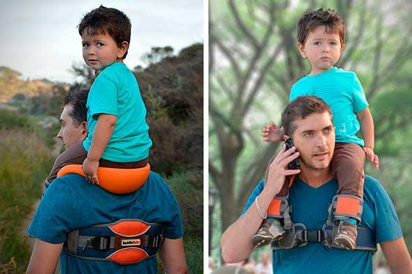 SaddleBaby, silla para niño