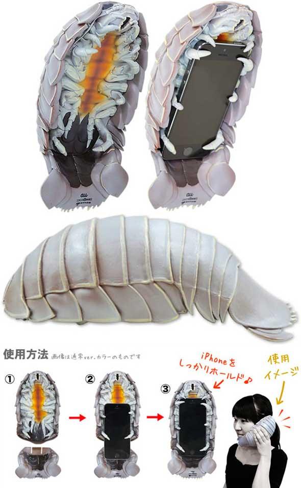 Carcasa de isópodo gigante para iPhone