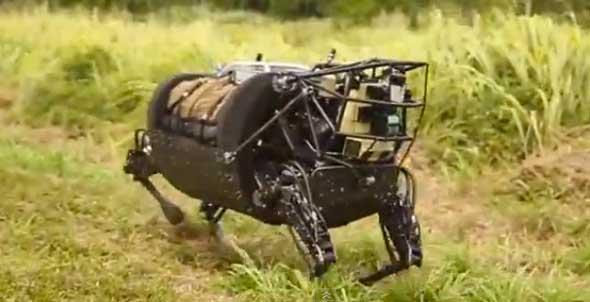 Caballo robot de los US Marines