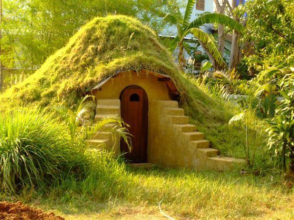 Cómo construir una casa Hobbit