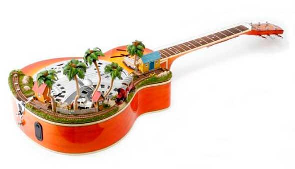 Dioramas miniatura en objetos cotidianos