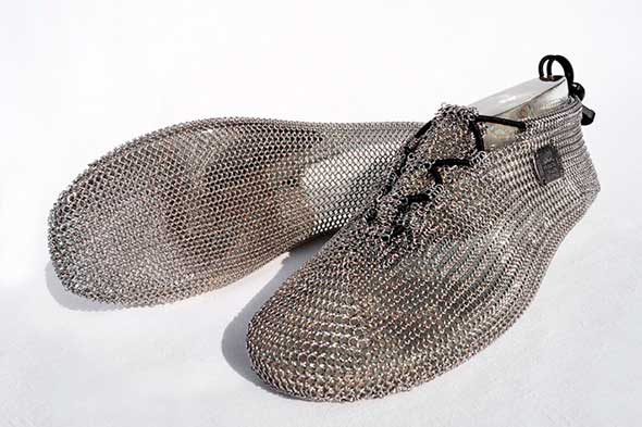 Zapatillas de correr de cota de malla