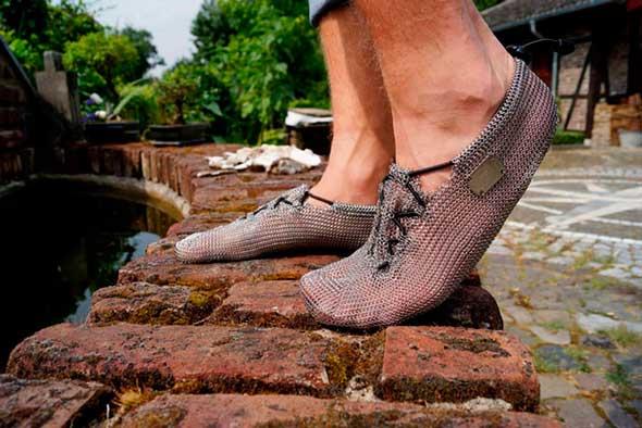 Zapatillas running de cota de malla
