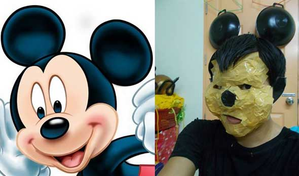 Cosplay Barato Mickey Mouse