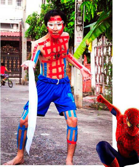 Cosplay barato Spiderman