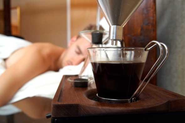 Despertador cafetera