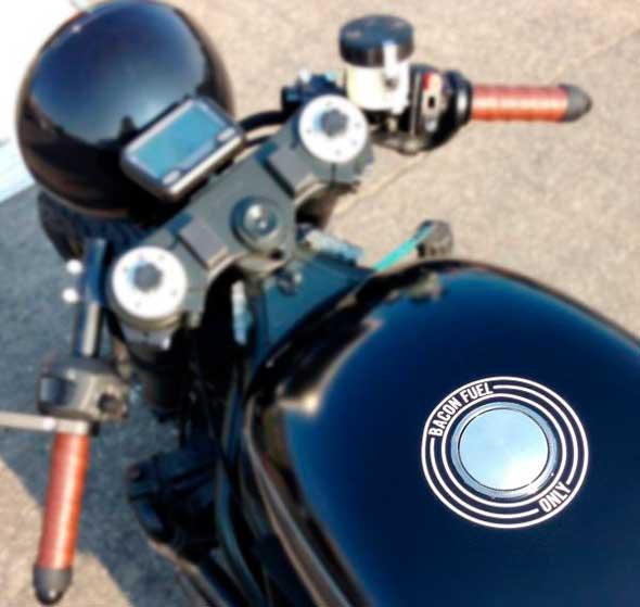 moto biodiésel biocombustible que funciona con bacon