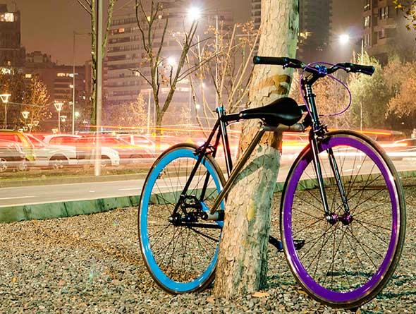 Yerka, una bicicleta cuyo cuadro se transforma en un candado