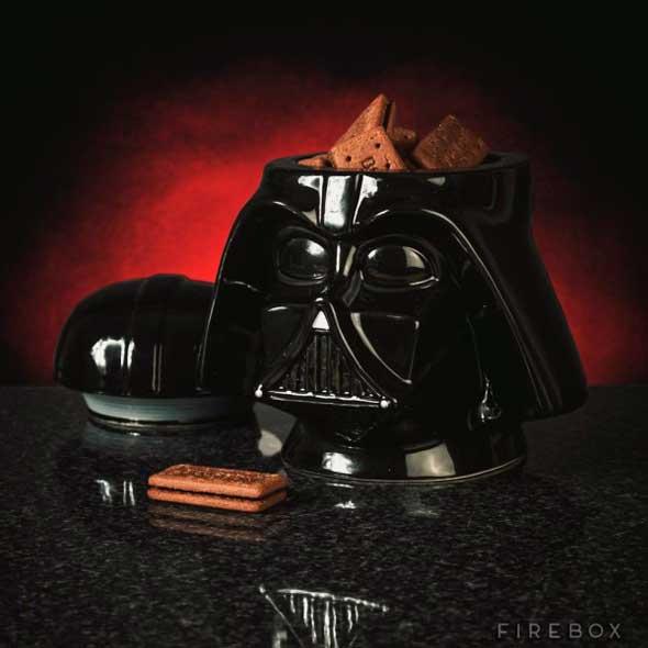 Bote para galletas Darth Vader