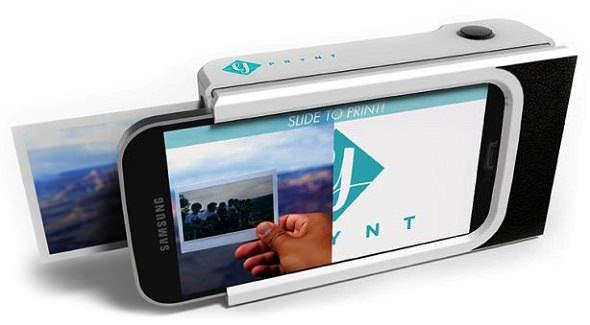 Carcasa que convierte tu móvil en una Polaroid