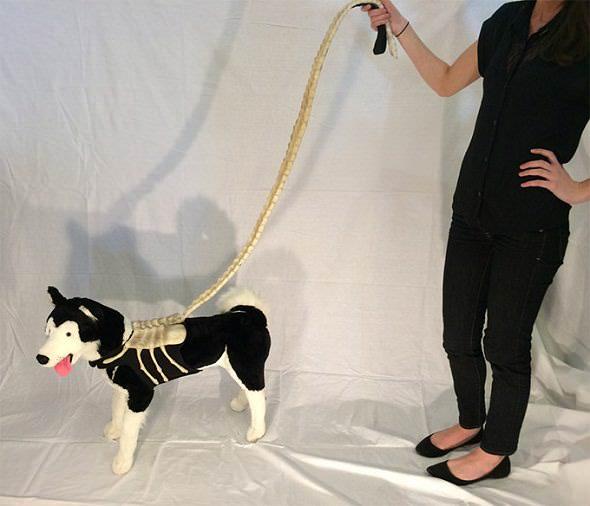 Correa de perro friki de Alien Facehugger