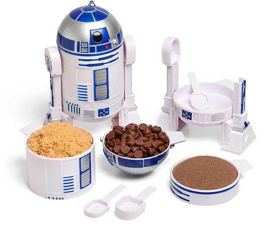 R2-D2 te ayuda a cocinar midiéndote los ingredientes