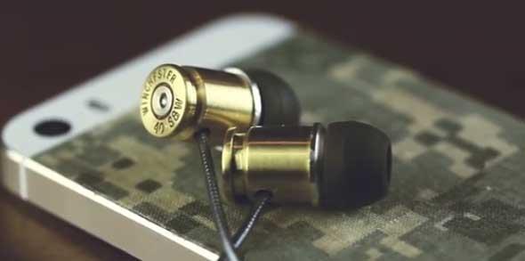 Hazlo tú mismo - Auriculares con casquillos de bala