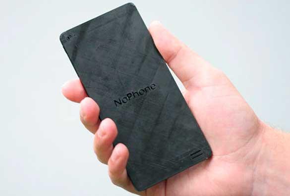 NoPhone, un trozo de plástico que te ayudará a dejar tu adicción al teléfono móvil