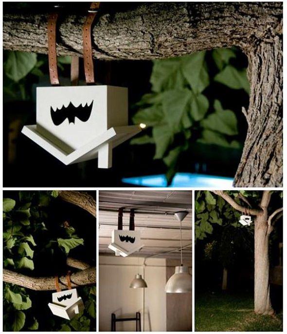 Construyendo una casa para murciélagos... o para Batman