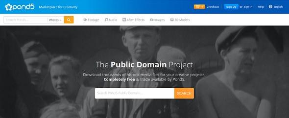 Miles de fotos, vídeos y archivos audio gratis en Pong5