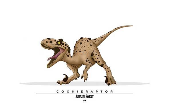 Jurassic Sweet Cookieraptor