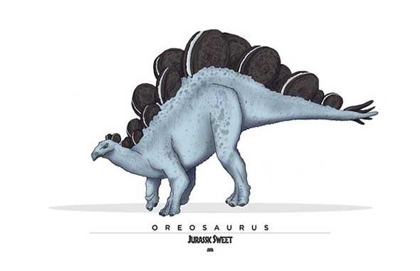 Jurassic Sweet Oreosaurus