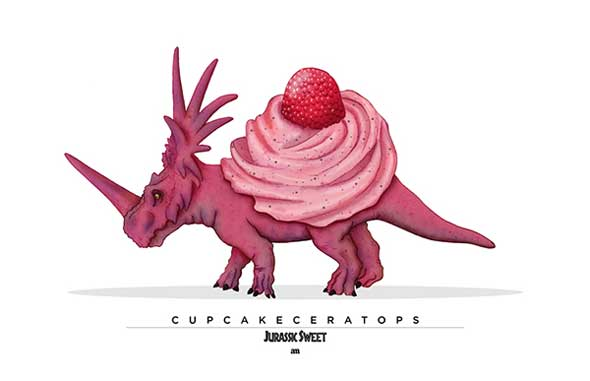Jurassic Sweets Cupcakeceratops