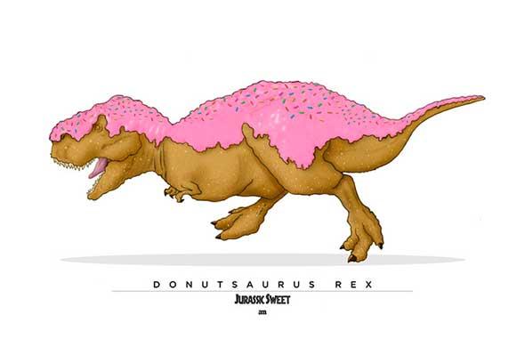Jurassic Sweets - Donutsaurus Rex y sus deliciosos amigos jurásicos