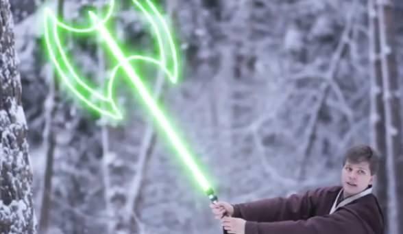 Star Wars: Batalla de sables láser modernos