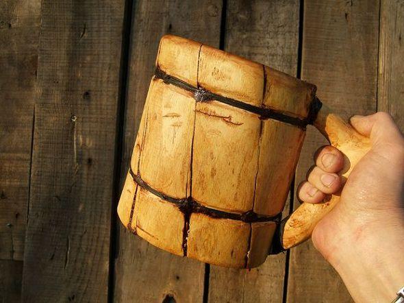Tutorial sobre cómo hacer una jarra vikinga