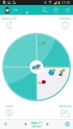 Aplicación tomar medicamentos
