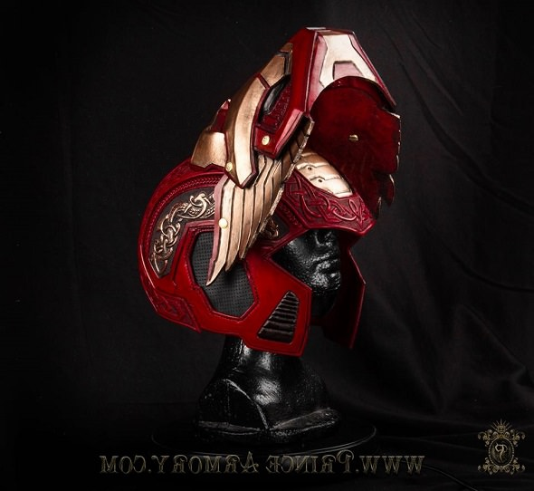 Asgardian Iron Man Helmet