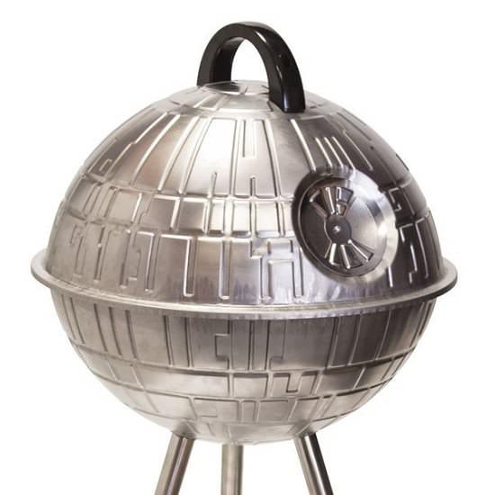 Barbacoa con forma de Estrella de la Muerte de Star-Wars