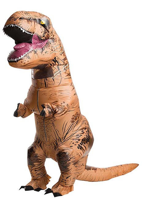 Disfraz hinchable de T-Rex